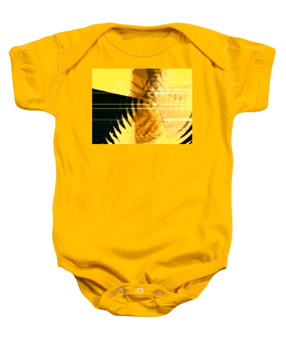 Art Digital Art Baby Onesie featuring the digital art Change - Leaf8 by Alex Porter