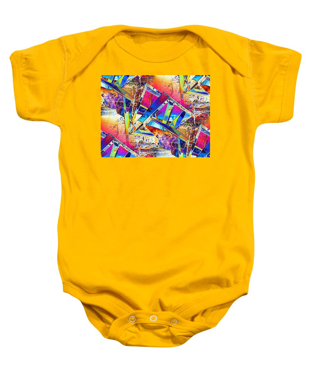 Seattle Baby Onesie featuring the photograph Color Me Abstract by Tim Allen