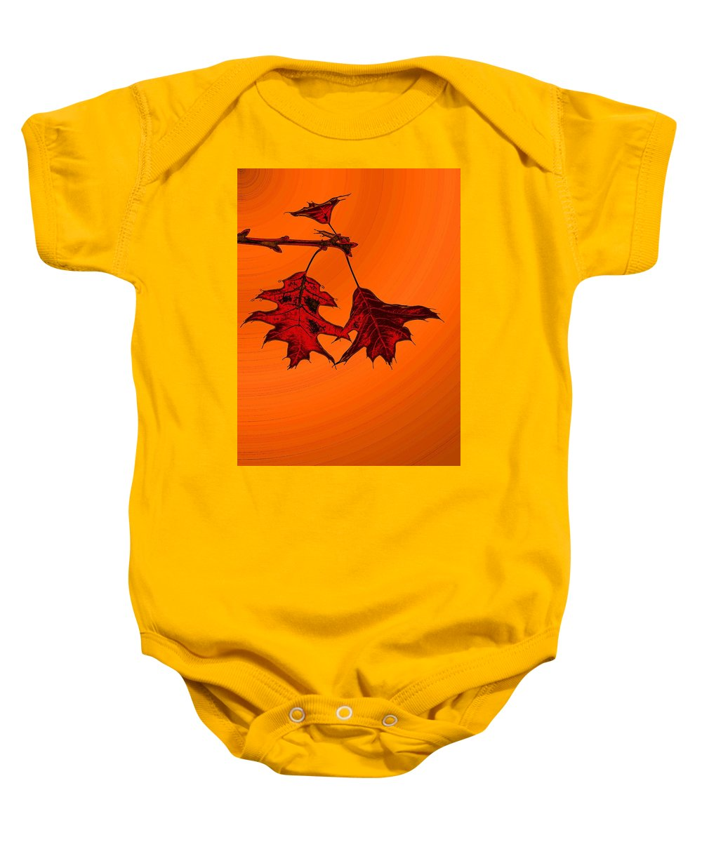 Autumn Baby Onesie featuring the digital art Color Me Autumn 2 by Tim Allen