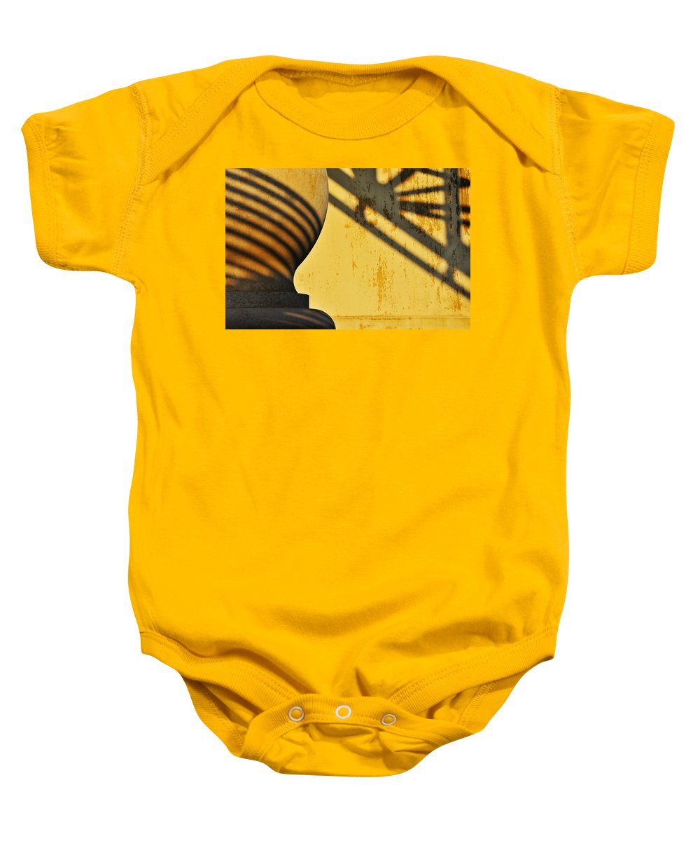 Architecture Baby Onesie featuring the photograph Comb Over by Skip Hunt