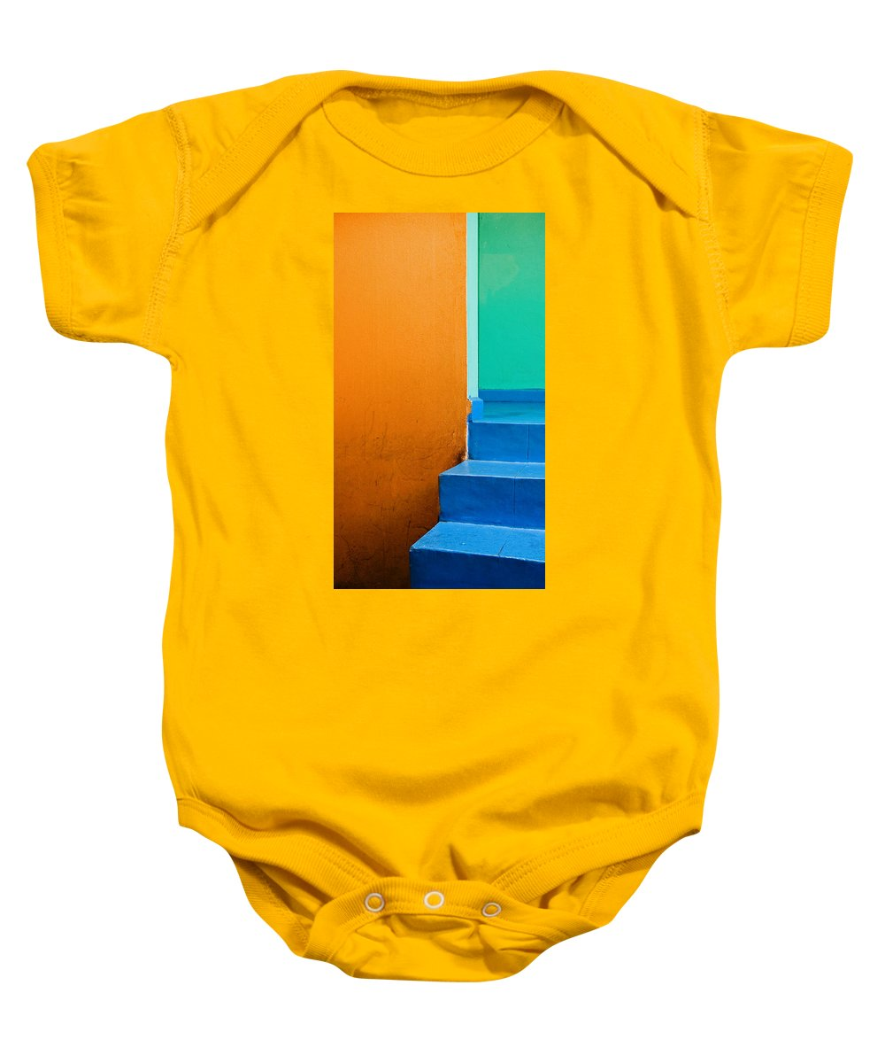 Oaxaca Baby Onesie featuring the photograph Creamsicle by Skip Hunt