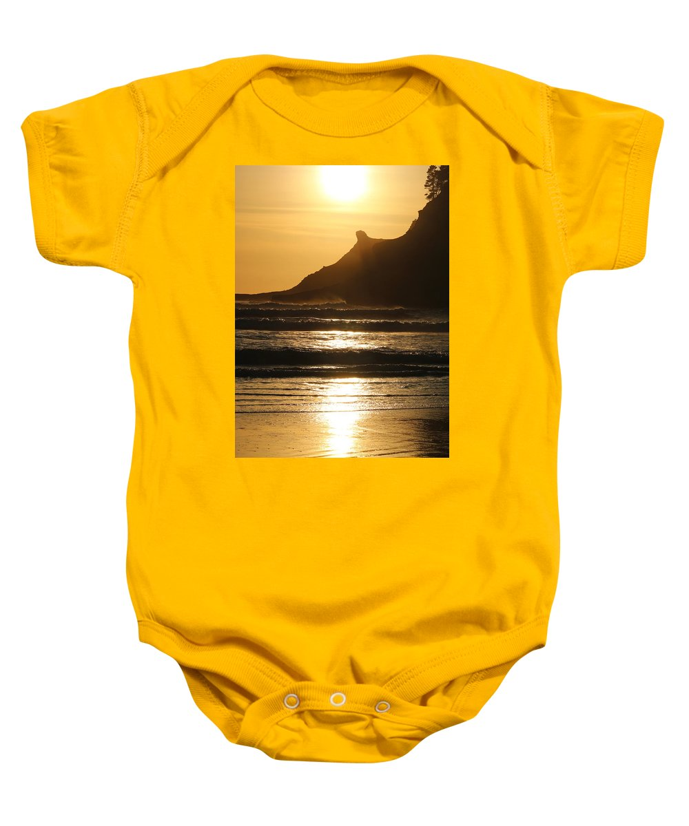 Baby Onesie featuring the photograph End Of Day II by Crooked Cat Art and Photography