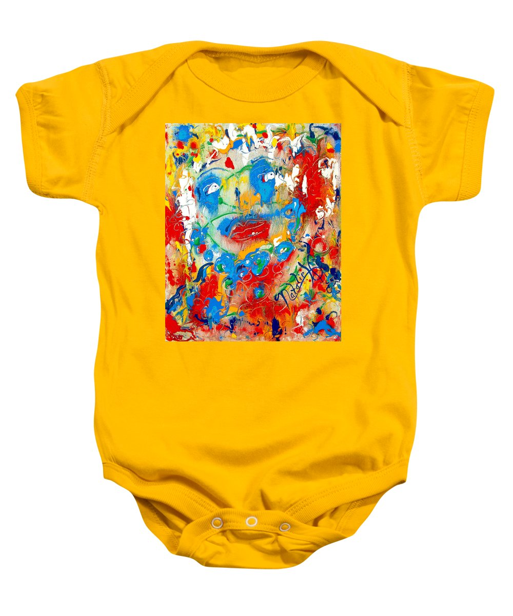 Woman Baby Onesie featuring the painting Fantasia by Natalie Holland