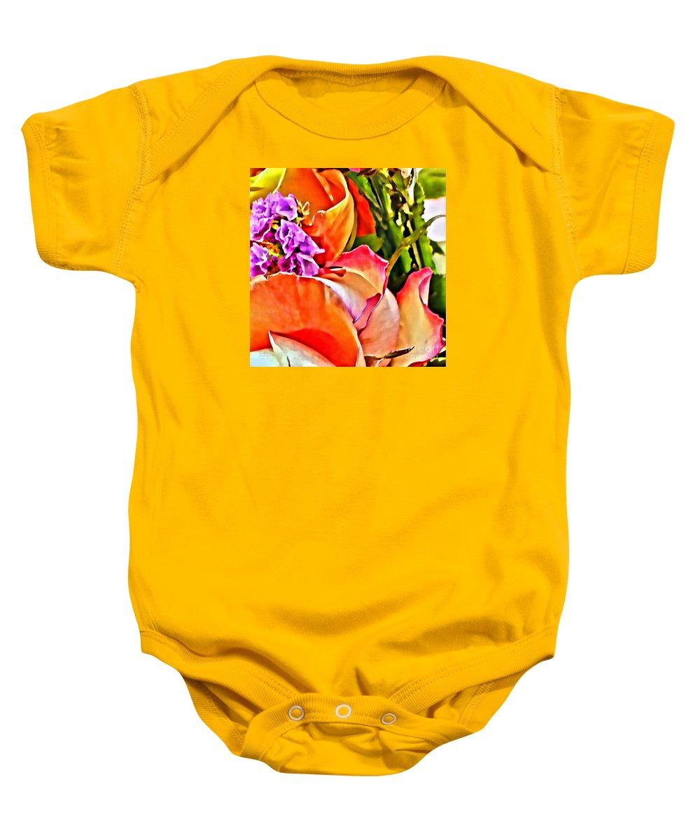 Feminine Baby Onesie featuring the photograph Feminine by Beauty For God