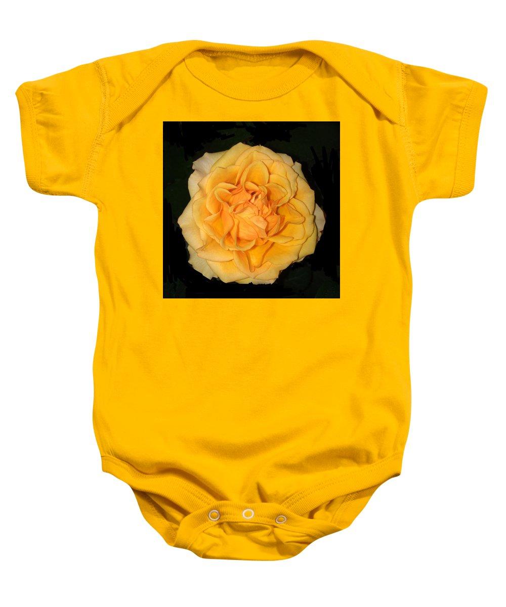#florainterpretation #fantasy #flower #art #macro #inspirational #colorful Baby Onesie featuring the photograph Flora Fantasy 5.14.17 Florainterpretation by Michael DeSiano