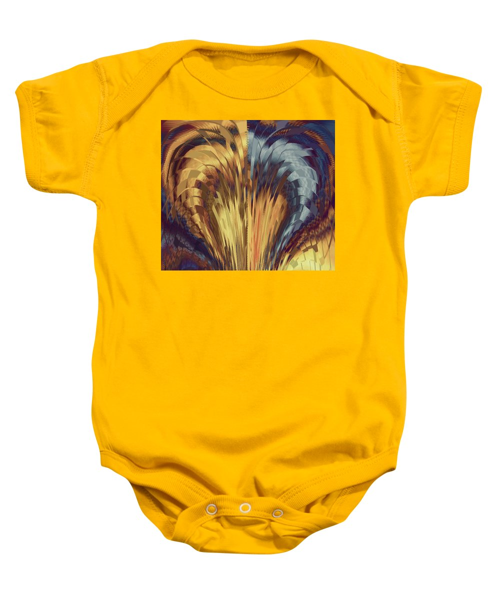 Angel Baby Onesie featuring the photograph Fly Away From Here by Elizabeth Tillar