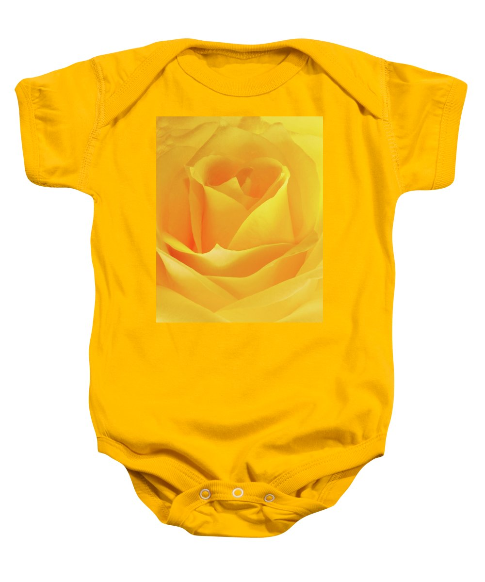 Flowers Baby Onesie featuring the photograph Friendship by JGracey Stinson