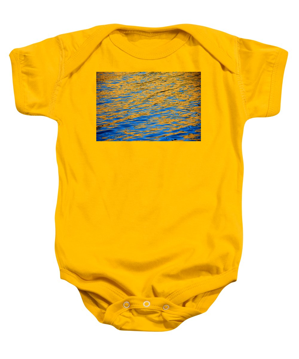 Water Baby Onesie featuring the photograph Fully Involved by Donna Blackhall
