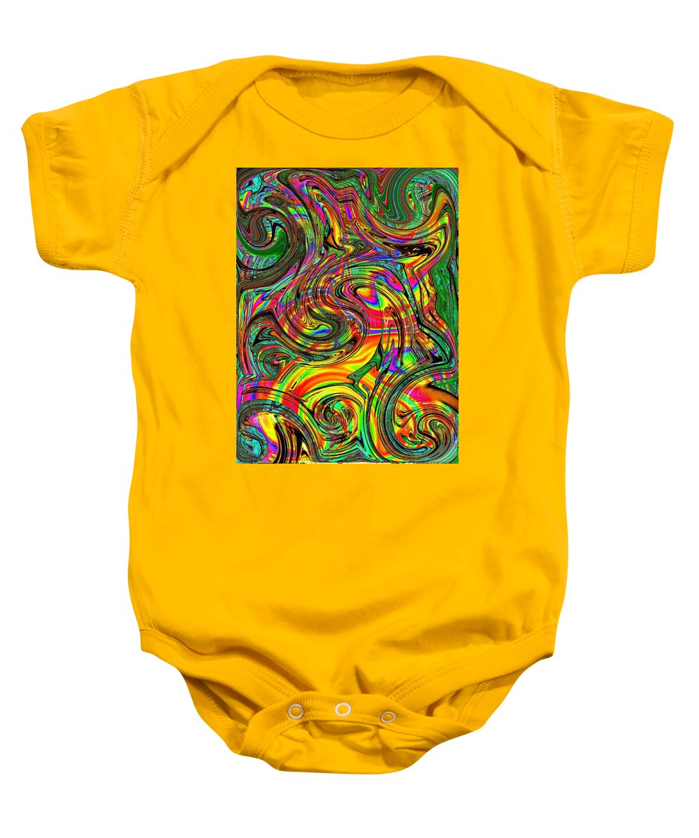 Abstract Baby Onesie featuring the photograph Give It A Whirl by Tim Allen