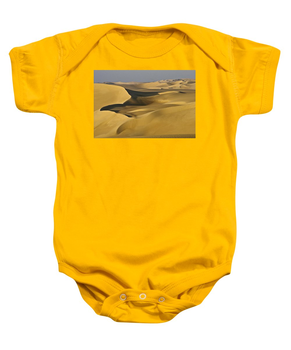 Egypt Baby Onesie featuring the photograph Great Sand Sea by Michele Burgess