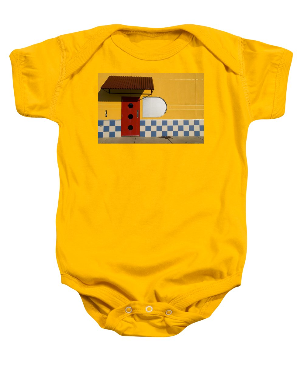 Architecture Baby Onesie featuring the photograph Happy Days by Skip Hunt