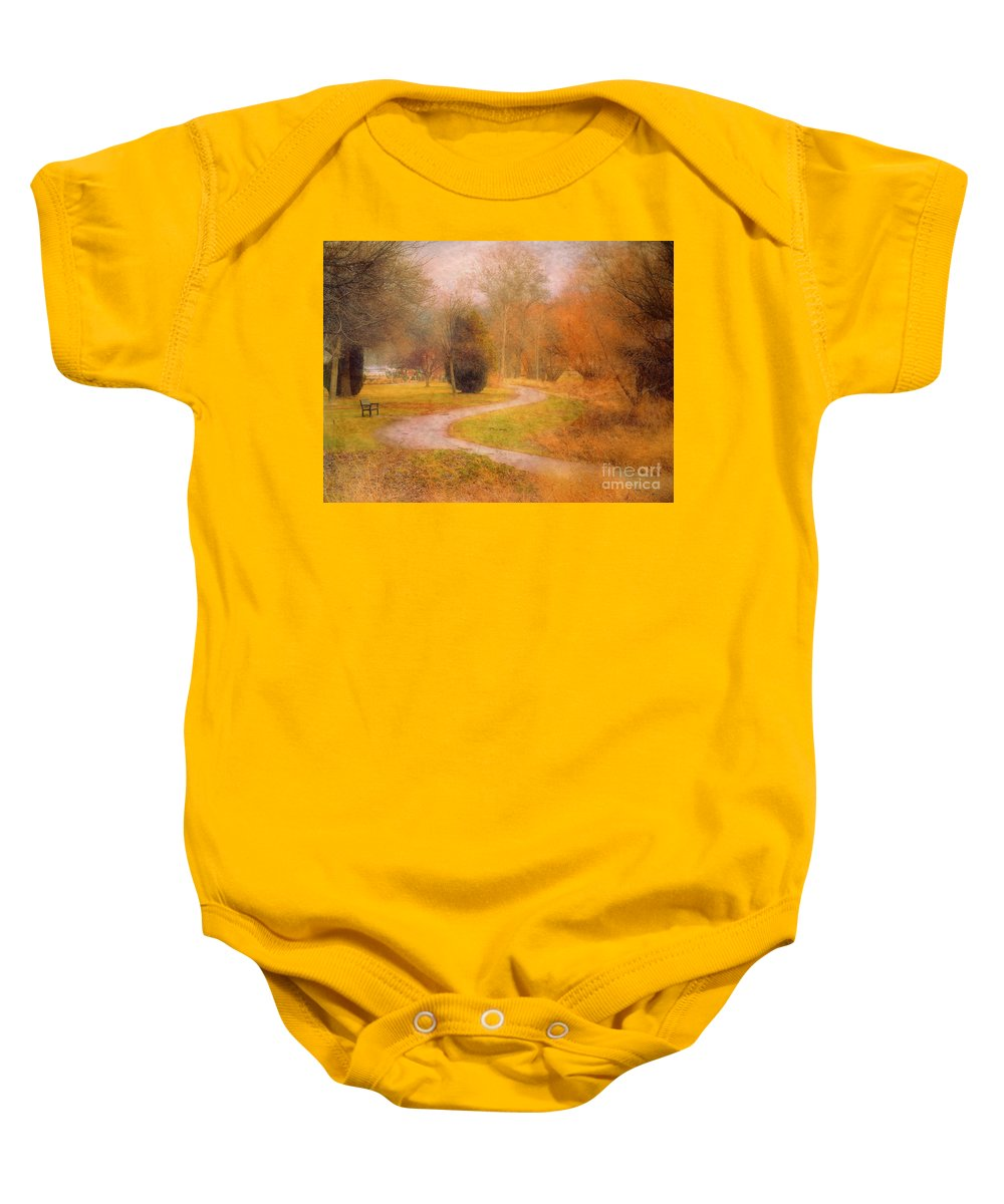Road Baby Onesie featuring the photograph January 14 2010 by Tara Turner