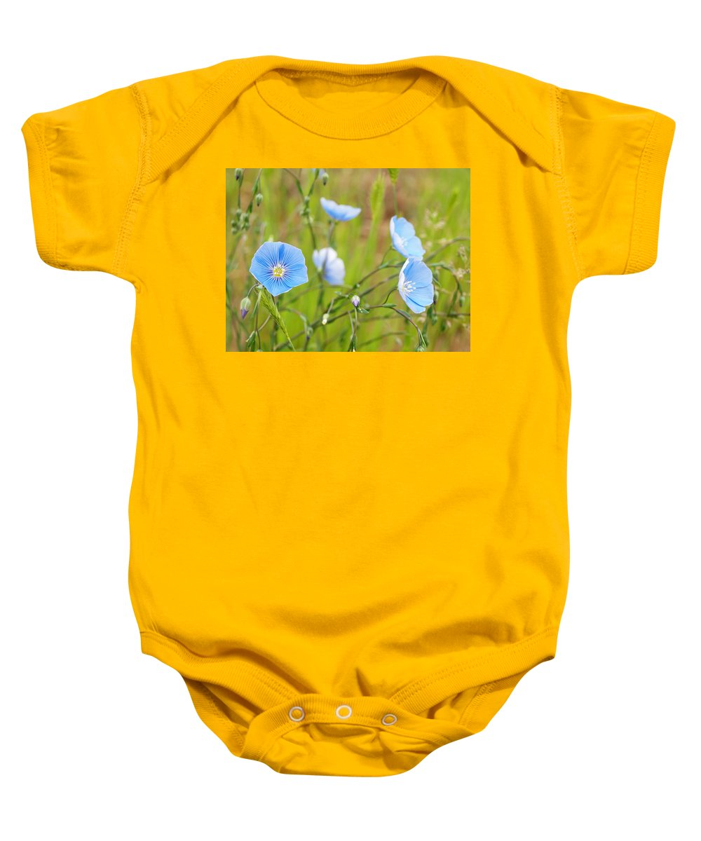 Flowers Baby Onesie featuring the photograph June 6 2010 by Tara Turner