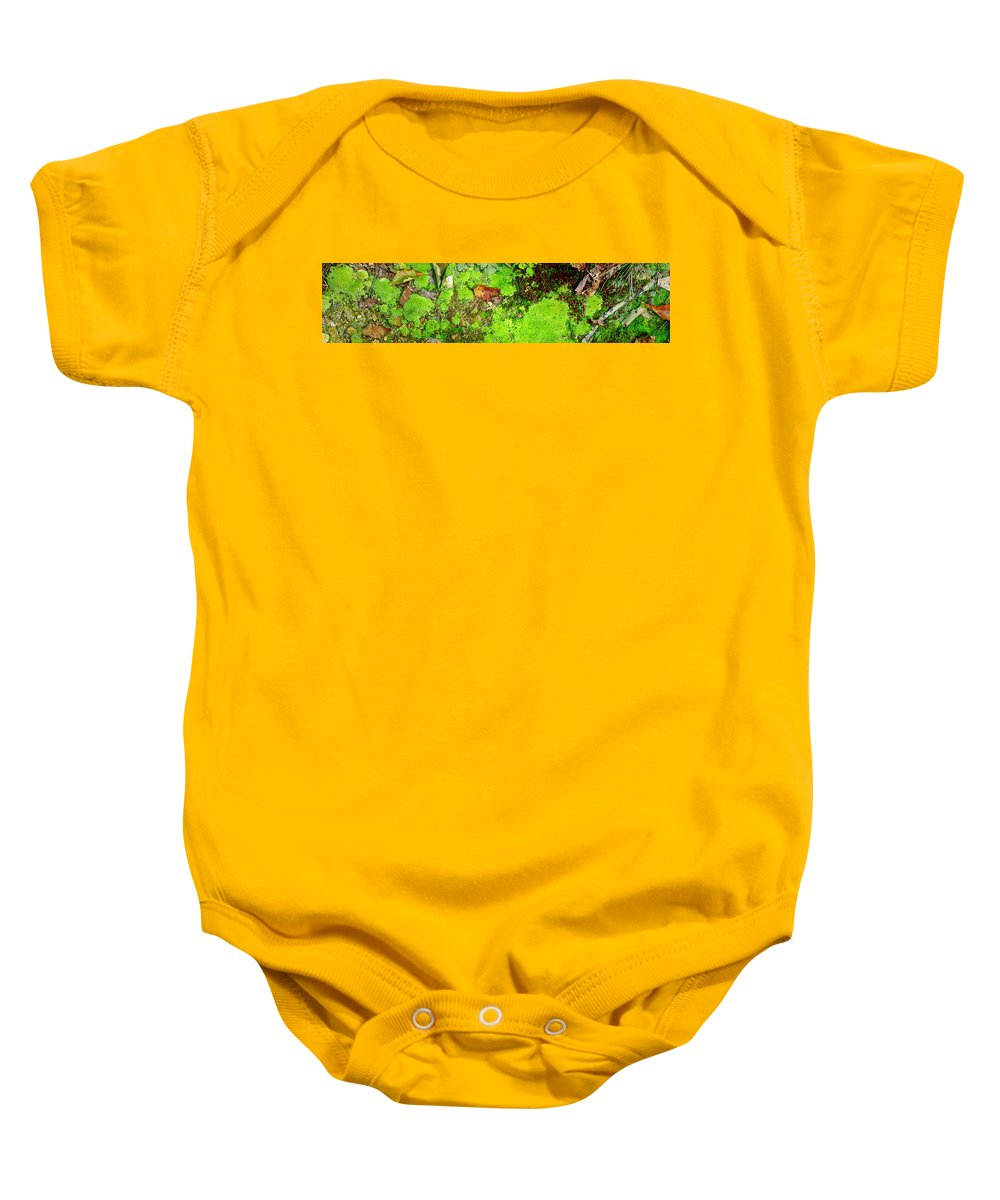 Moss Baby Onesie featuring the photograph Kate Moss by Ed Smith