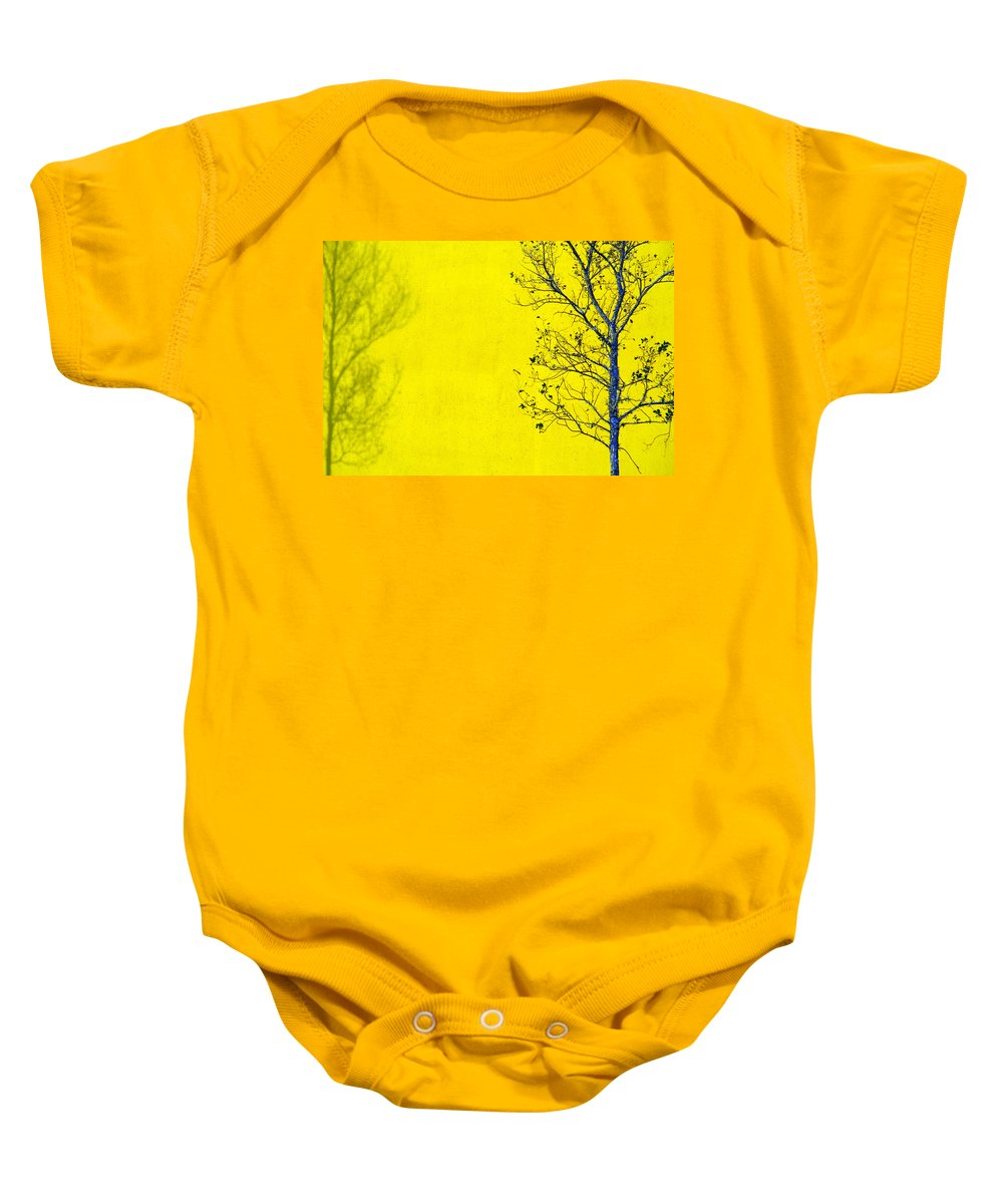 Skip Baby Onesie featuring the photograph Krishna by Skip Hunt