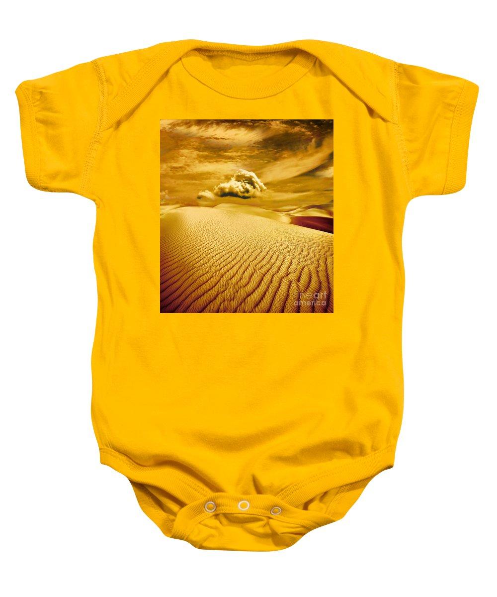 Desert Baby Onesie featuring the photograph Lost Worlds by Jacky Gerritsen