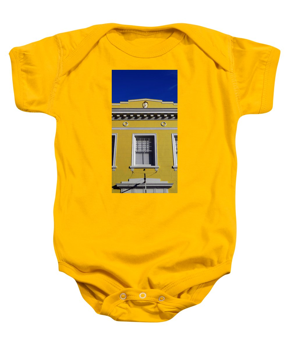 Mellow Yellow Baby Onesie featuring the photograph Mellow Yellow by Skip Hunt