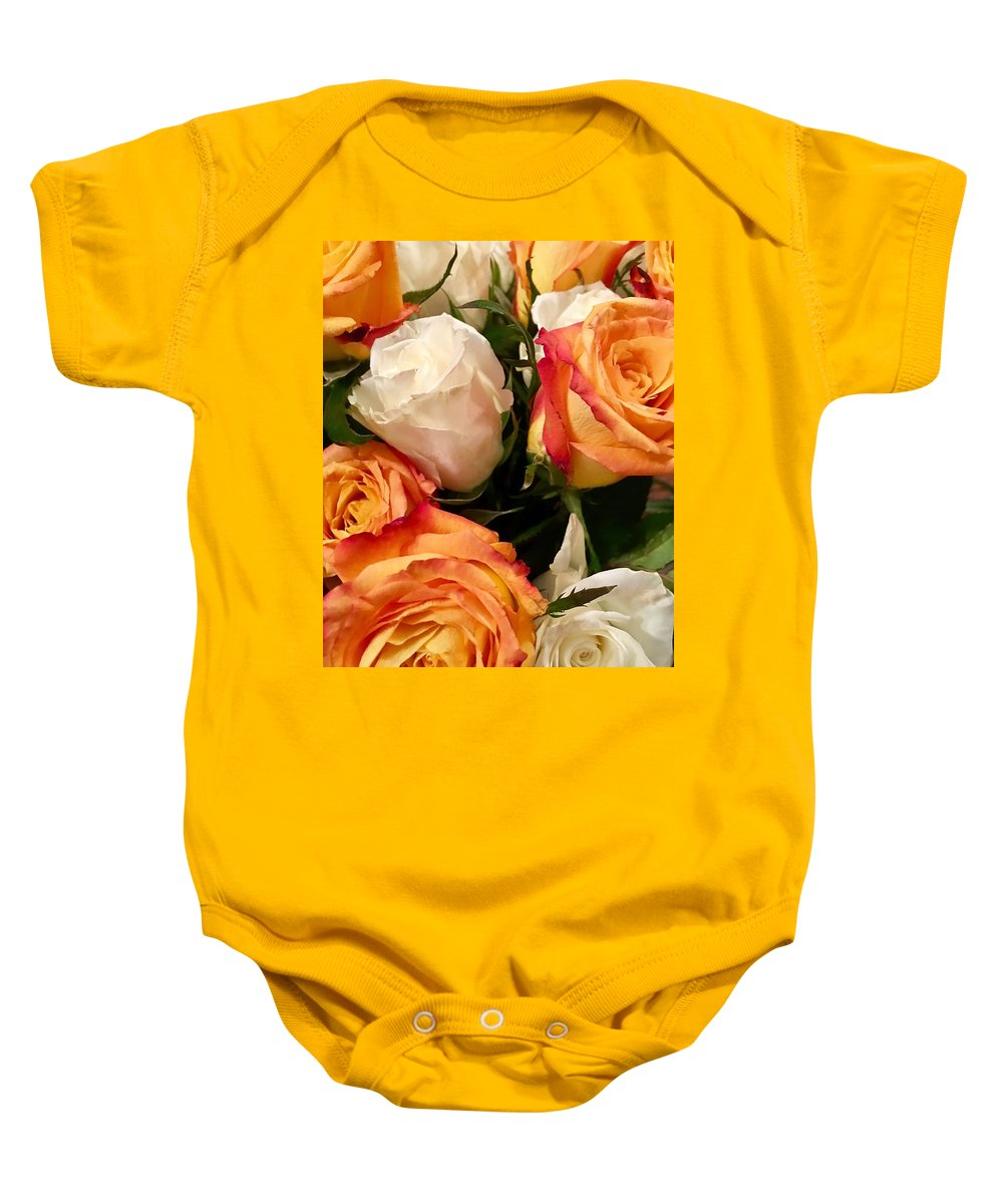 Flower Baby Onesie featuring the photograph Mothers Day by Chris Fulks