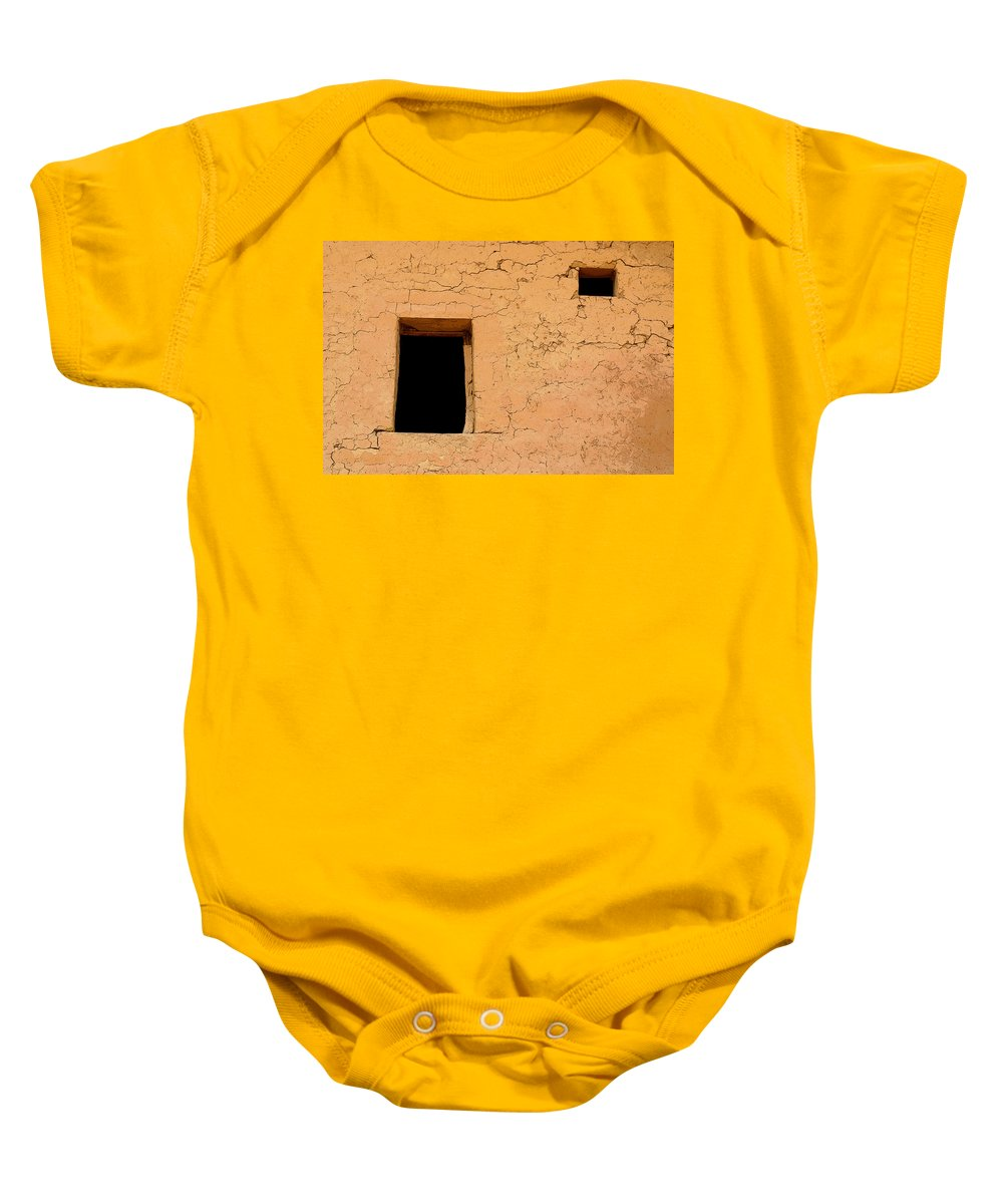 Adobe Baby Onesie featuring the photograph Mysterious Places by Joe Kozlowski