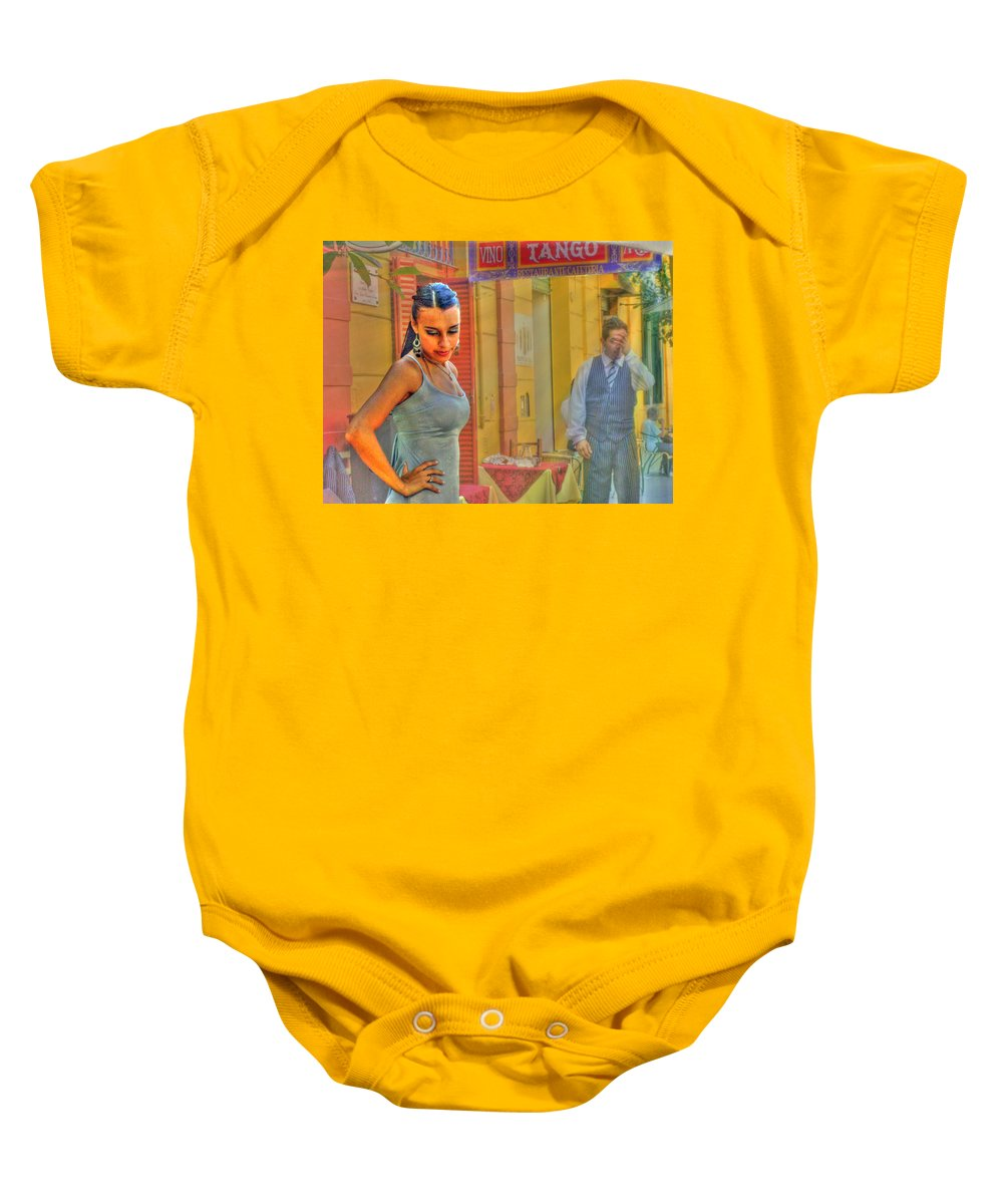 Tango Baby Onesie featuring the photograph Next Steps by Francisco Colon