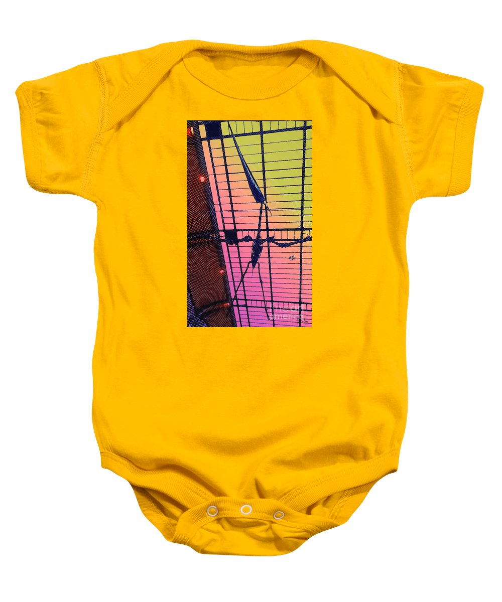 Pterodactyl Baby Onesie featuring the photograph Paleo Flight by Helge