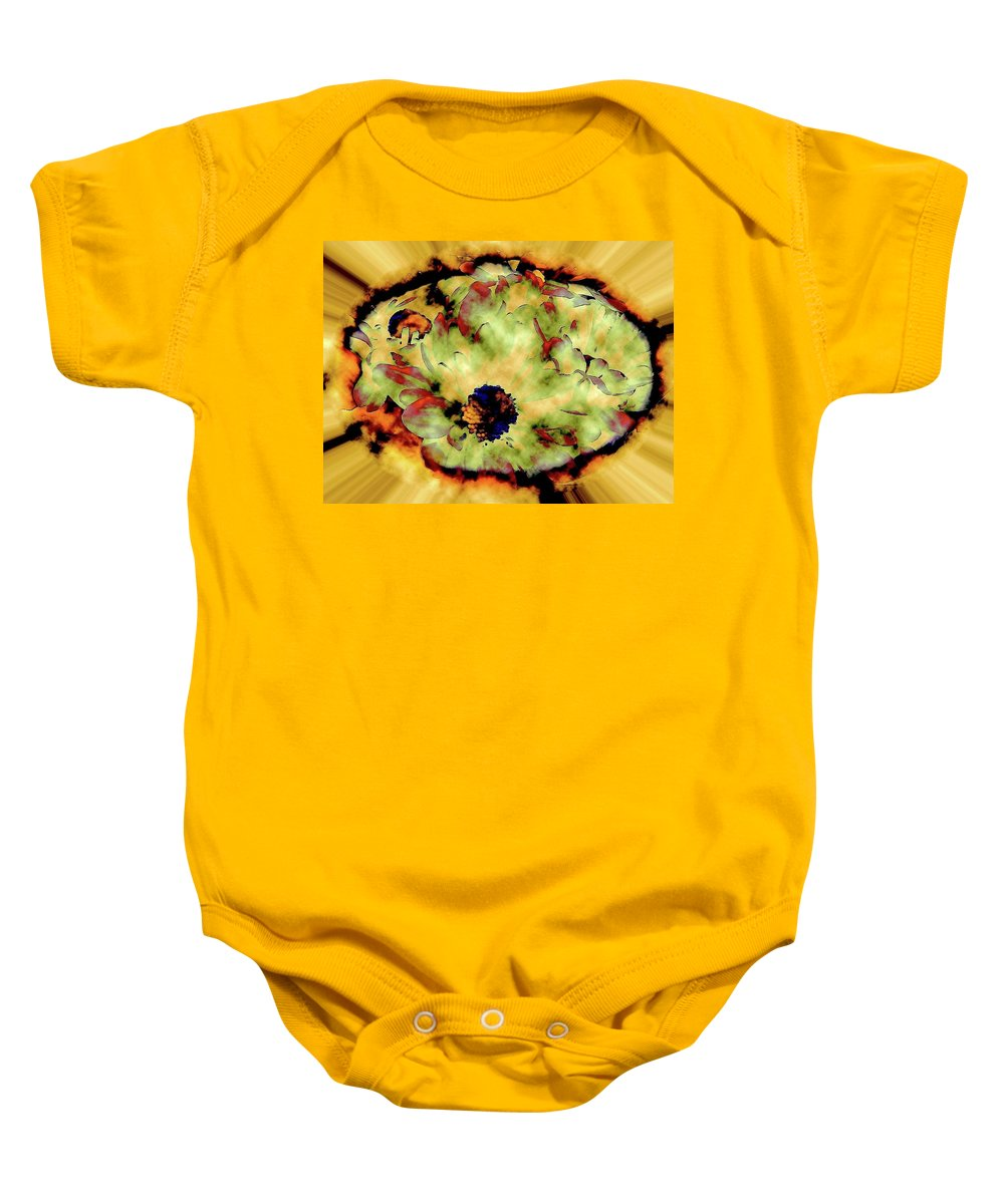 Abstract Baby Onesie featuring the photograph Portal To The Faraway Yet So Close by Elizabeth Tillar