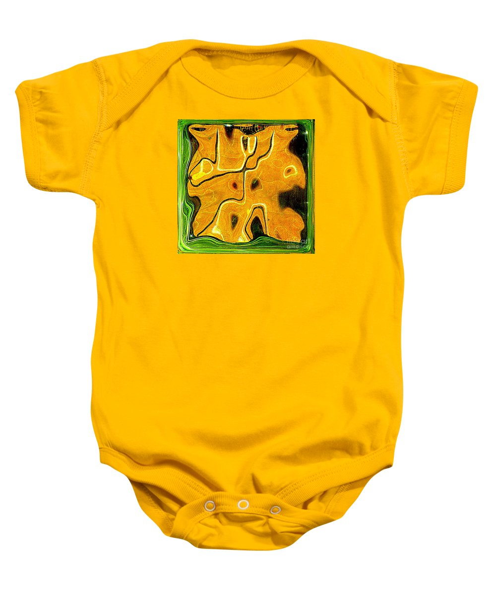 Native Baby Onesie featuring the photograph Primal by Randall Weidner