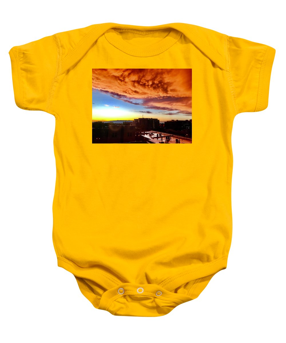 Baby Onesie featuring the photograph Refuge by Charles Duax