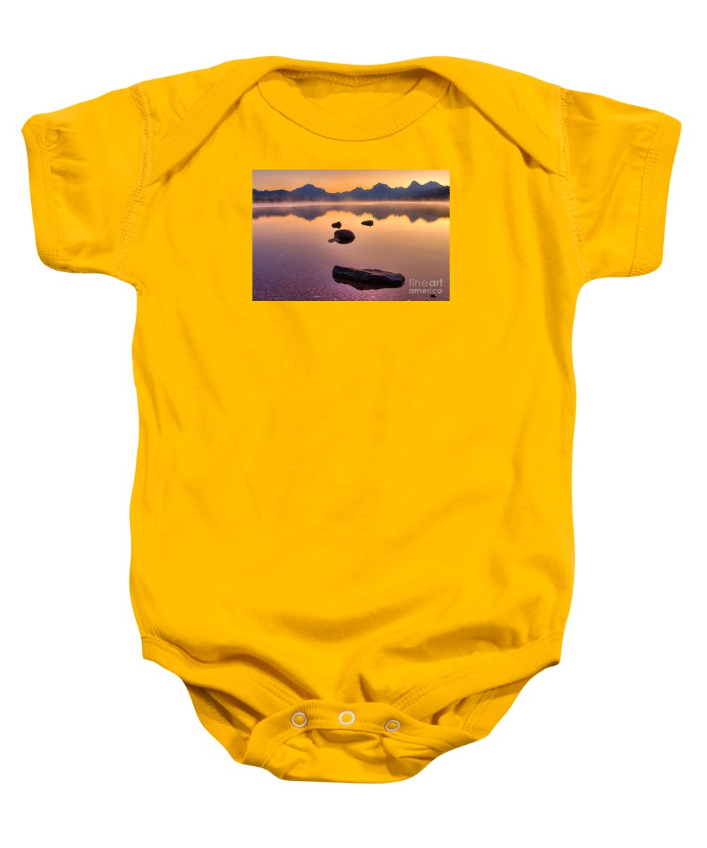 Rocky Mountains Baby Onesie featuring the photograph Rocky Mountain Magic - Seven-o-five by James Anderson