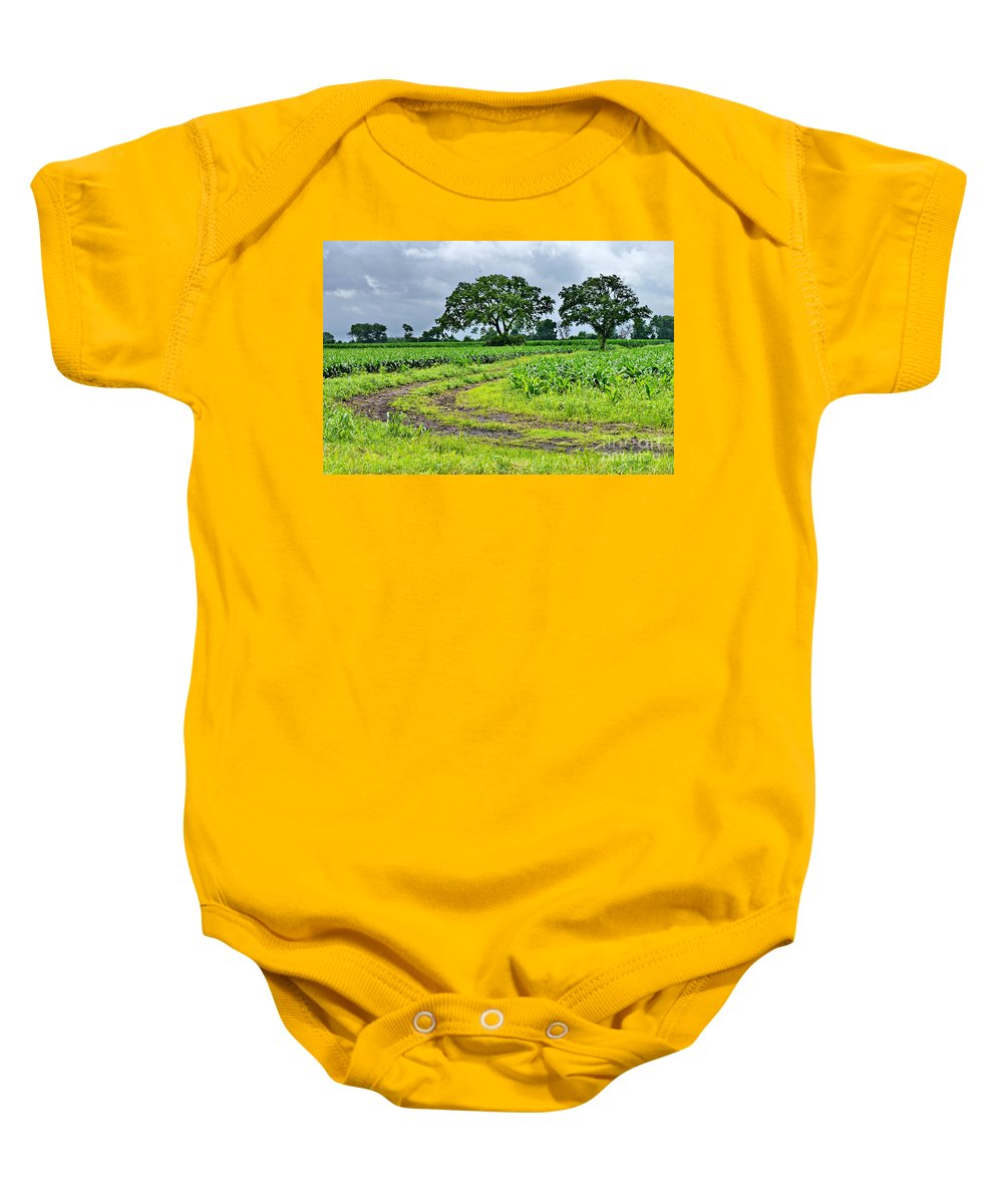 Rural Baby Onesie featuring the photograph Rural Beauty by Gary Richards