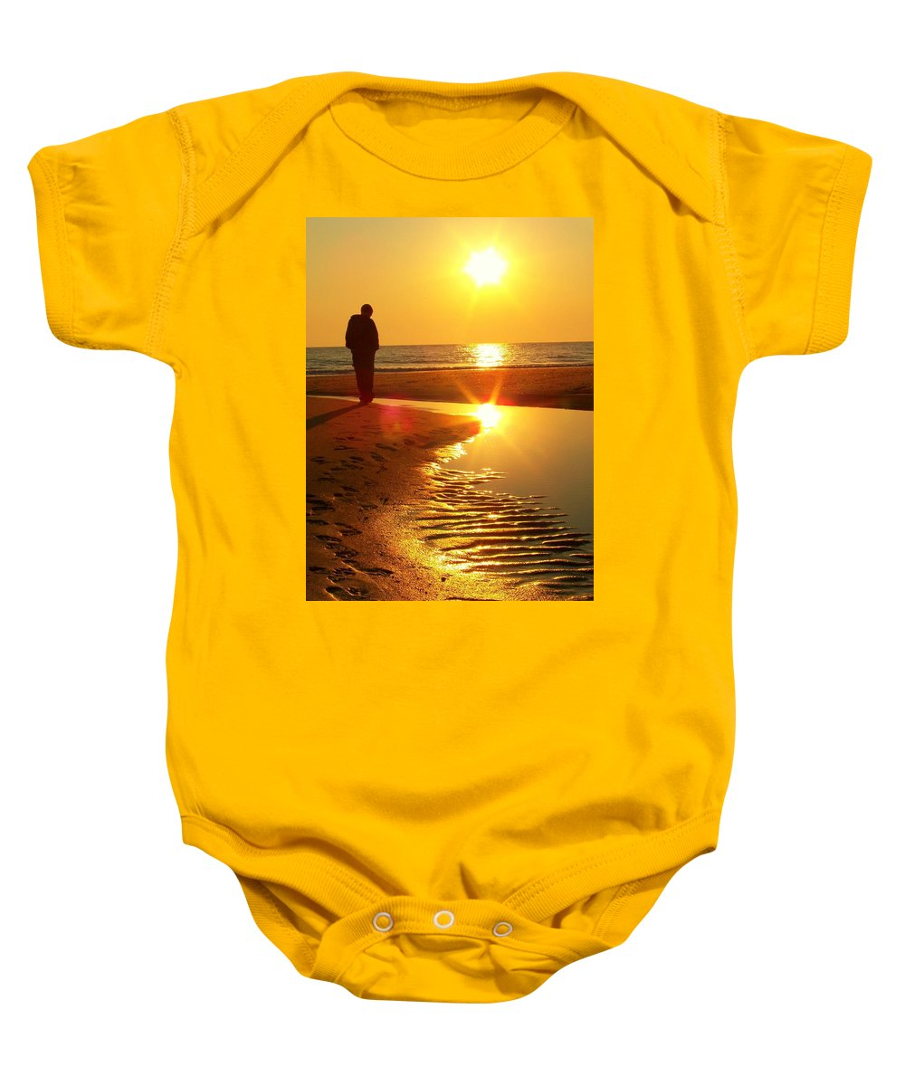 Baby Onesie featuring the photograph Serenity by Trish Tritz