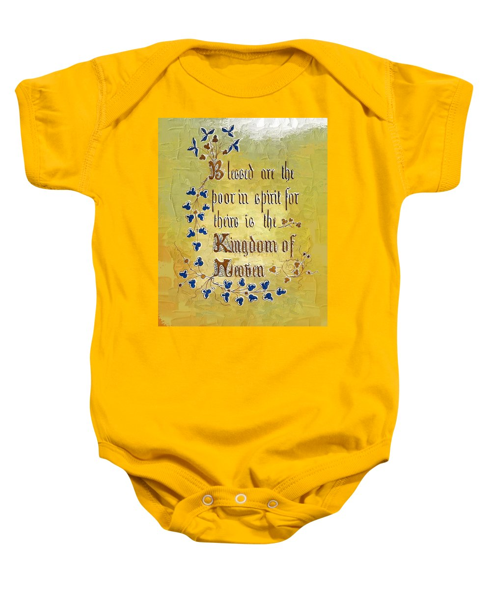 Sermon Baby Onesie featuring the photograph Sermon6 by Donna Bentley