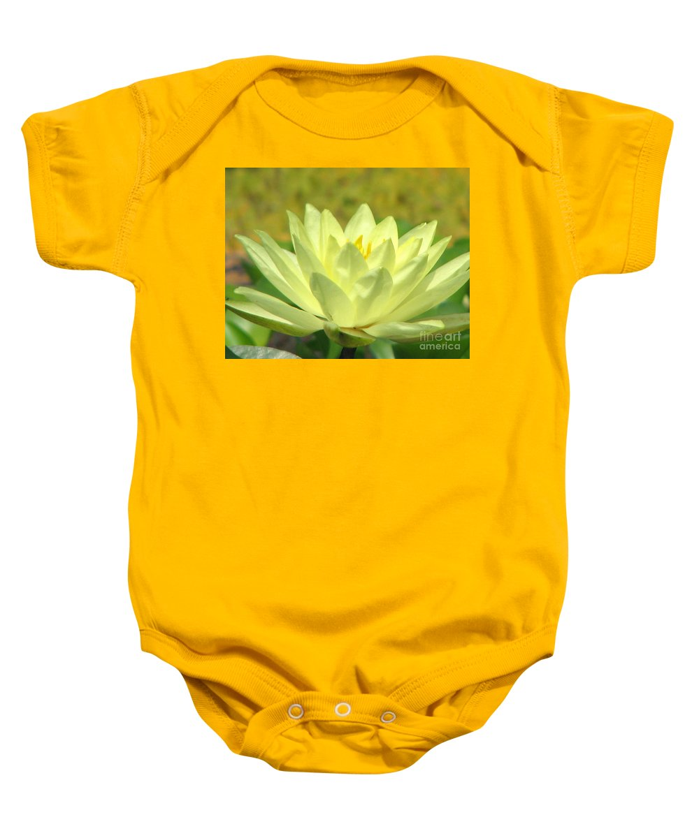 Lillypad Baby Onesie featuring the photograph Shades by Amanda Barcon