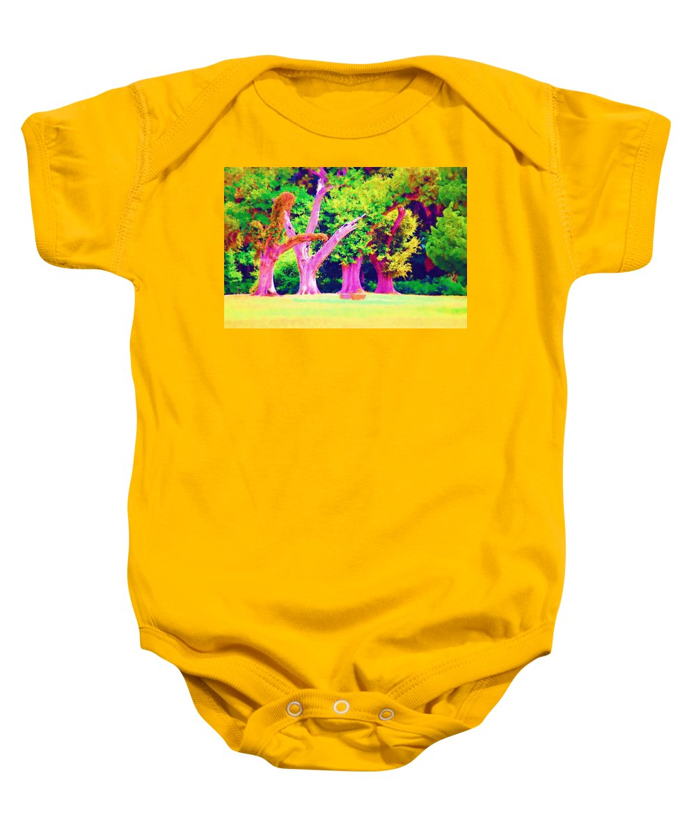 Dance Baby Onesie featuring the photograph Shall We Dance by Donna Bentley