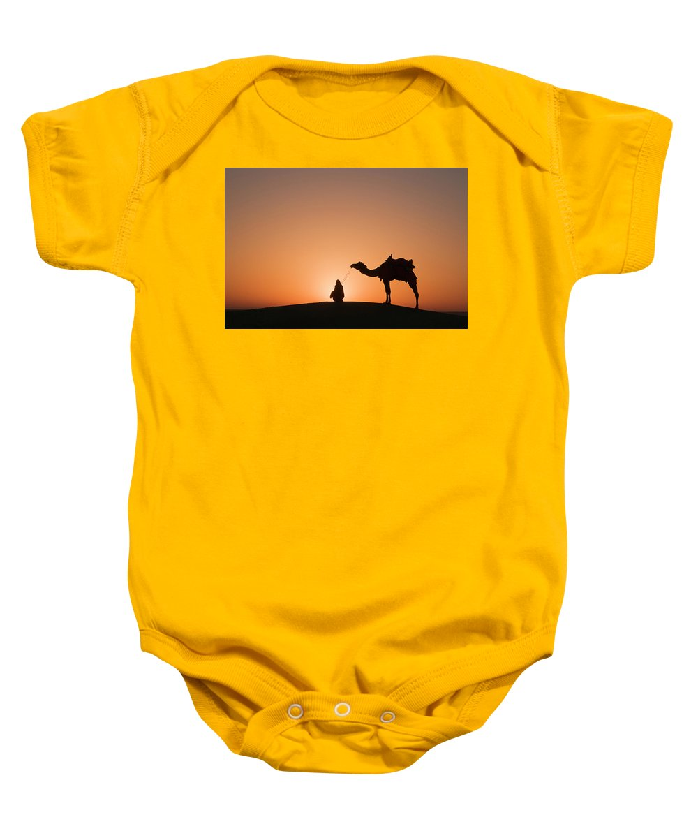 Halo Baby Onesie featuring the photograph Skn 0893 Halo Of Sunrise by Sunil Kapadia