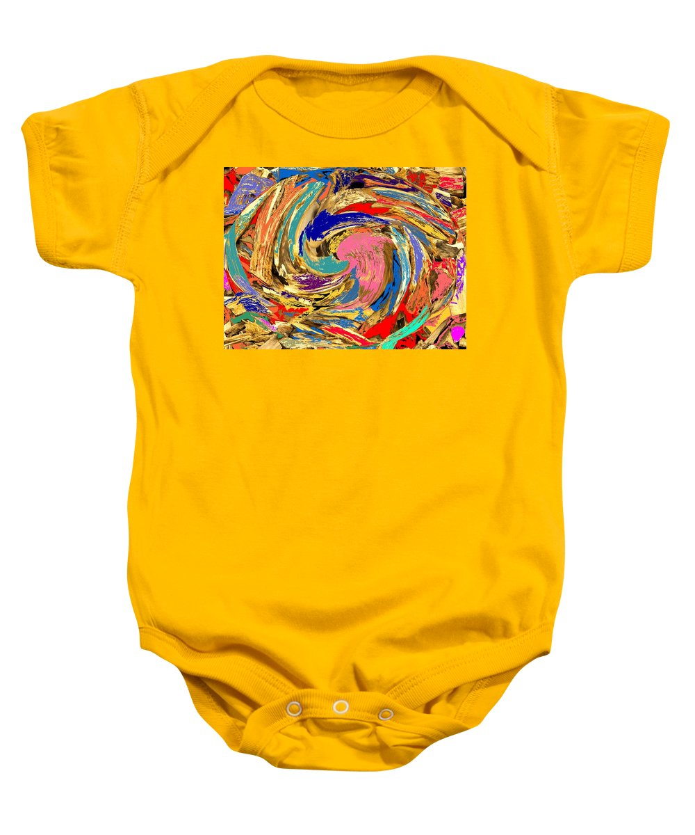 Wood Baby Onesie featuring the photograph Split by Ian MacDonald