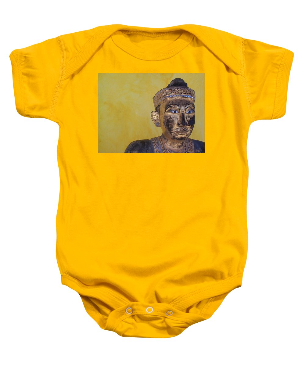 Charity Baby Onesie featuring the photograph Statue by Mary-Lee Sanders