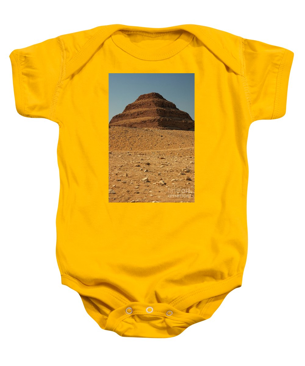 Africa Baby Onesie featuring the photograph Step Pyramid by Joe Ng