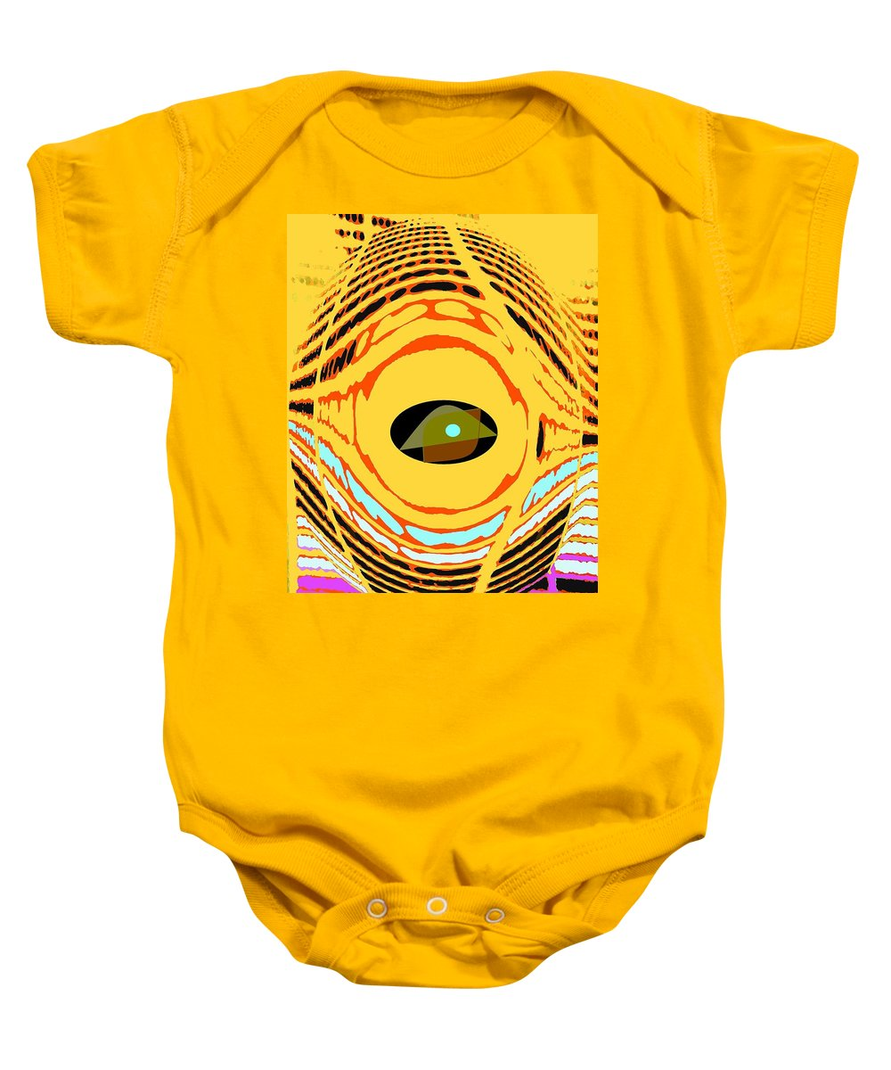 Yellow Baby Onesie featuring the photograph Structure In Perspective by Ian MacDonald
