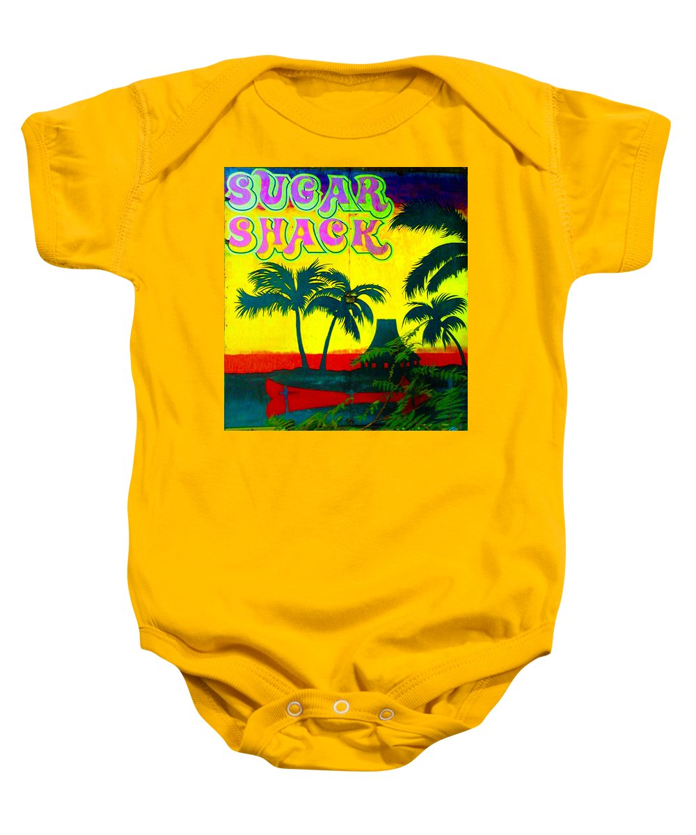 Sugar Shack Baby Onesie featuring the photograph Sugar Shack by Bill Cannon
