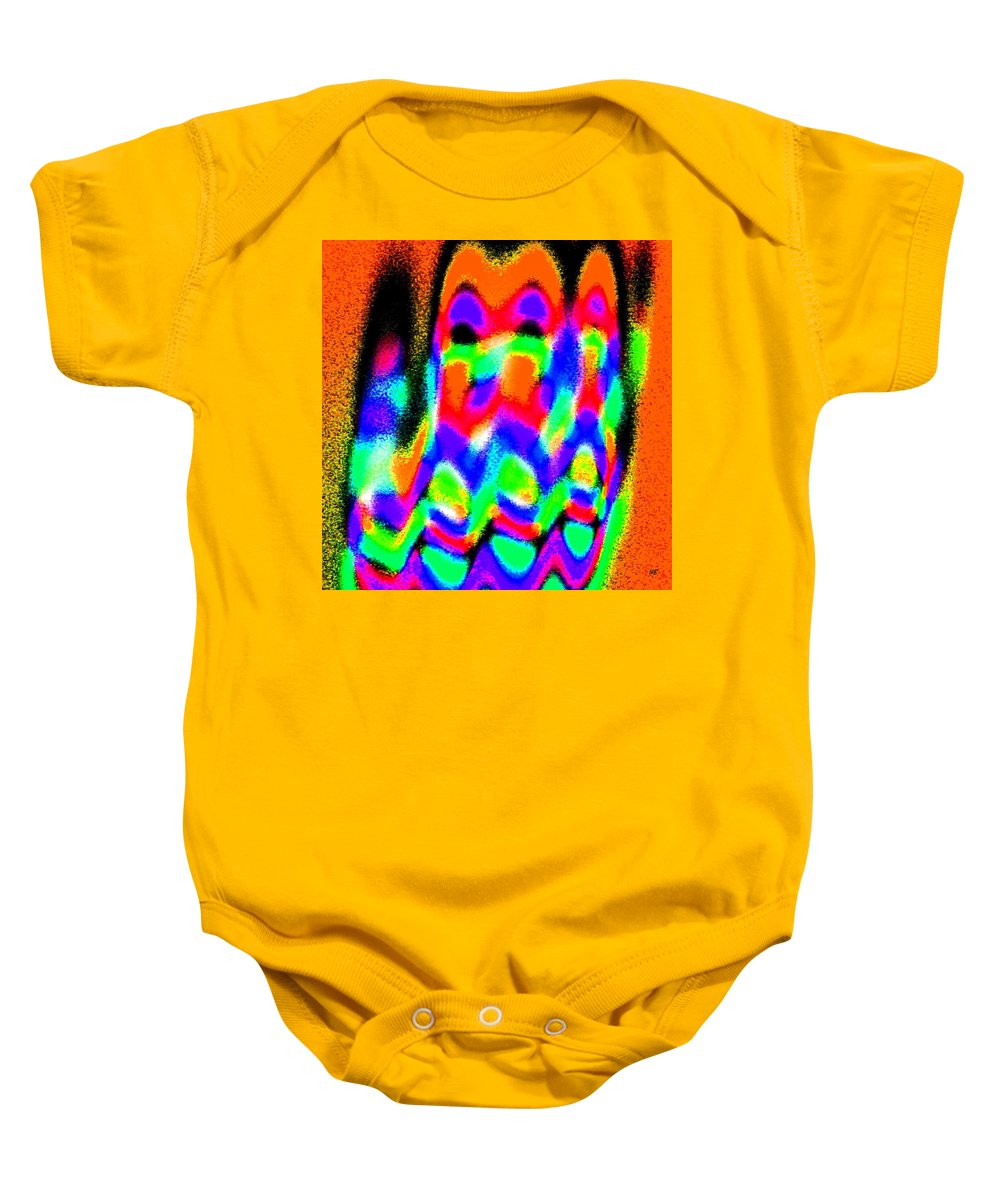 Conceptual Baby Onesie featuring the digital art Summer Call Of The North by Will Borden