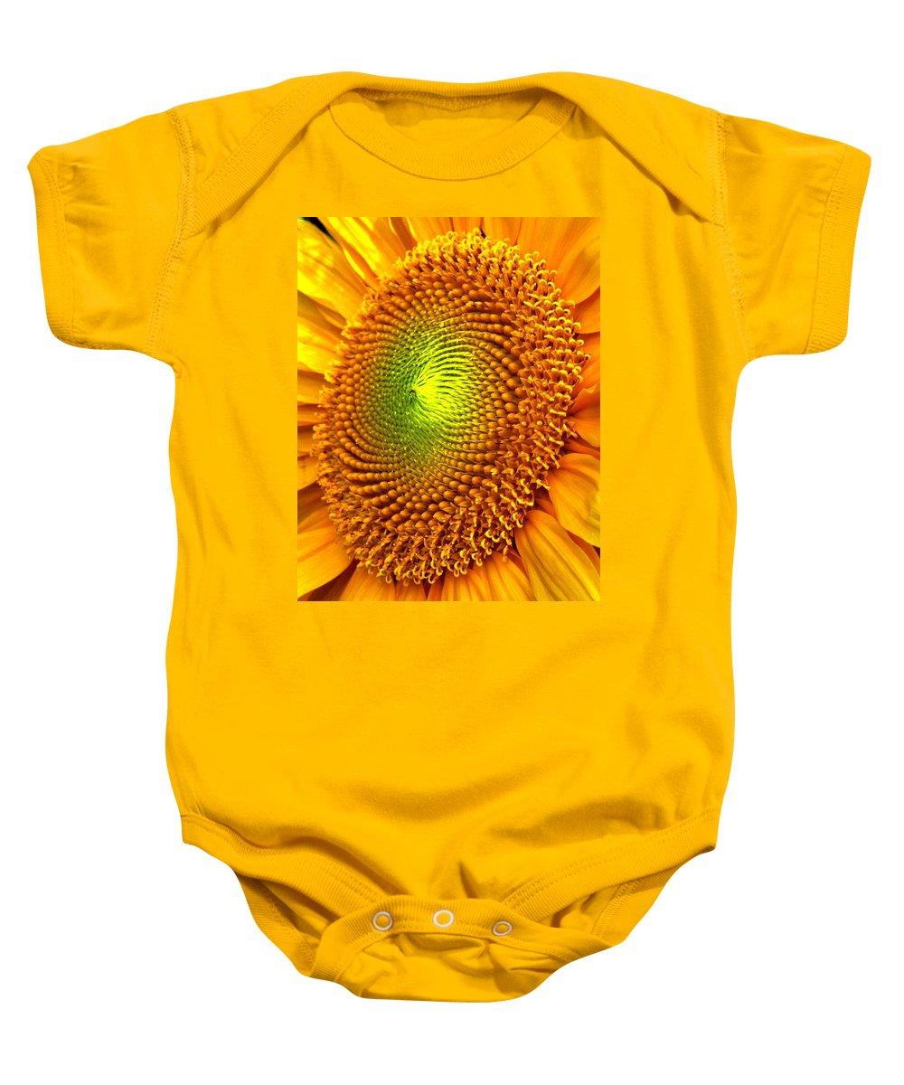 Sun Baby Onesie featuring the photograph Sun Burst by Ian MacDonald
