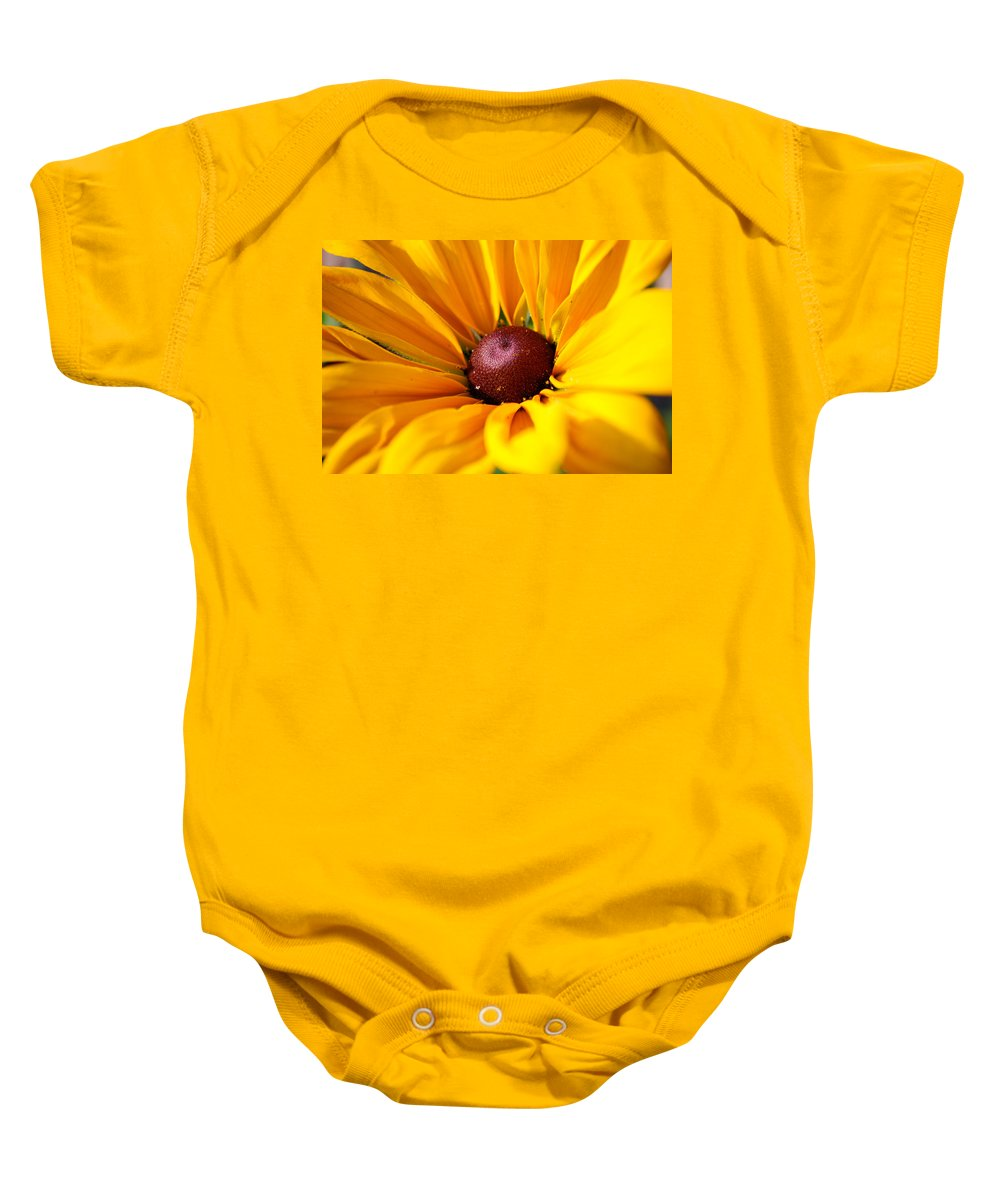 Sun Baby Onesie featuring the photograph Sunkissed by Lisa Knechtel