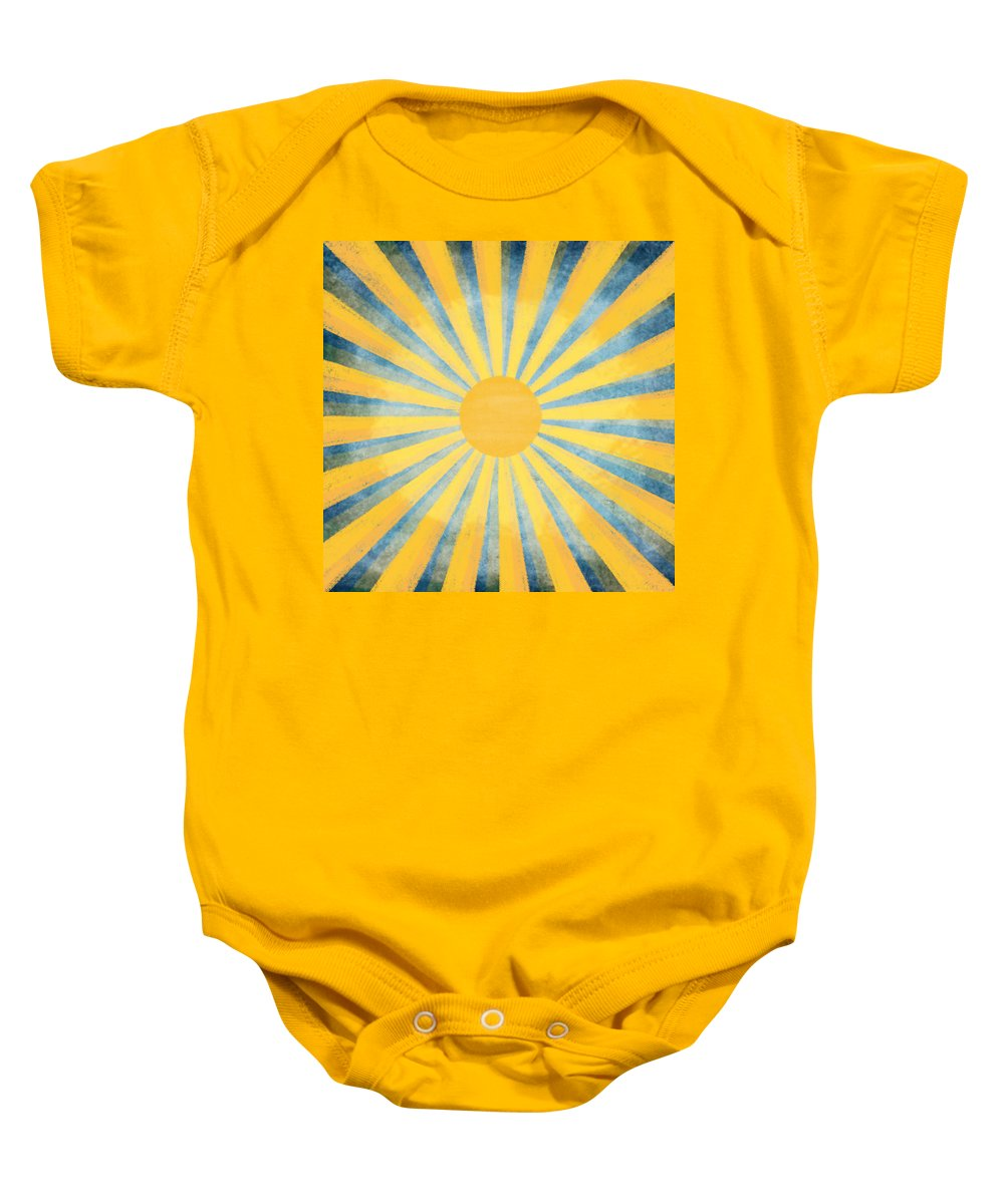 Art Baby Onesie featuring the photograph Sunny Day by Setsiri Silapasuwanchai