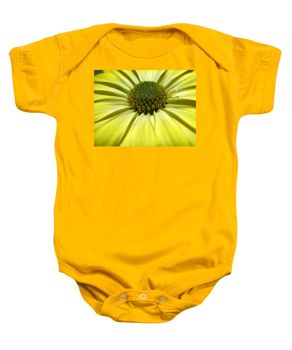 Daisy Baby Onesie featuring the photograph Sunny Days by Marla McFall