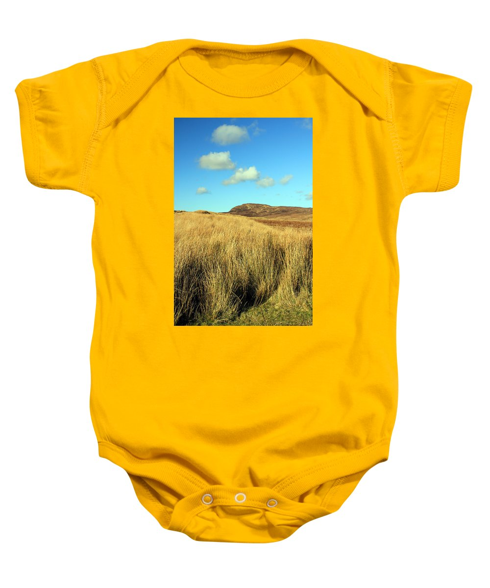 Landscapes Baby Onesie featuring the photograph Tall Grass by Jennifer Robin