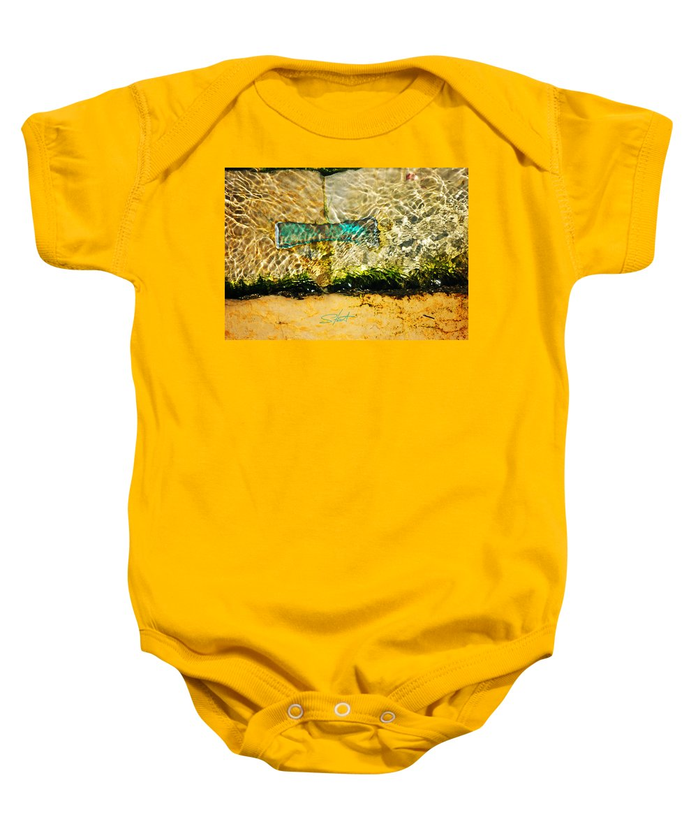 Bow Tie Baby Onesie featuring the photograph The Emerald Bow Tie by Charles Stuart
