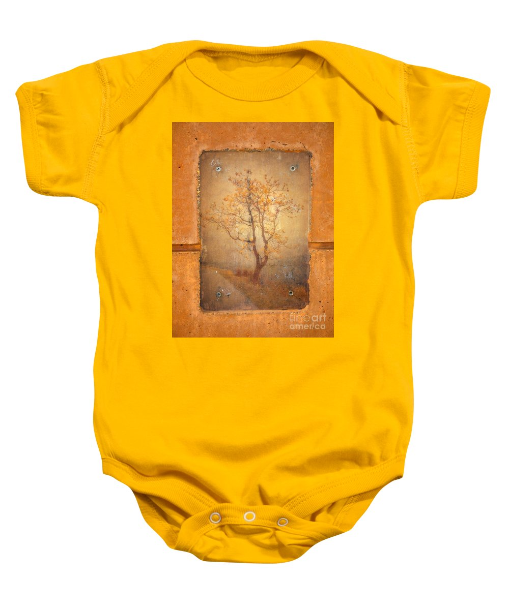 Tree Baby Onesie featuring the photograph The Last Tree by Tara Turner