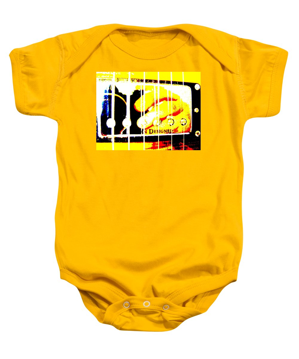 Still Life Baby Onesie featuring the photograph The Pick Up Artist by Ed Smith
