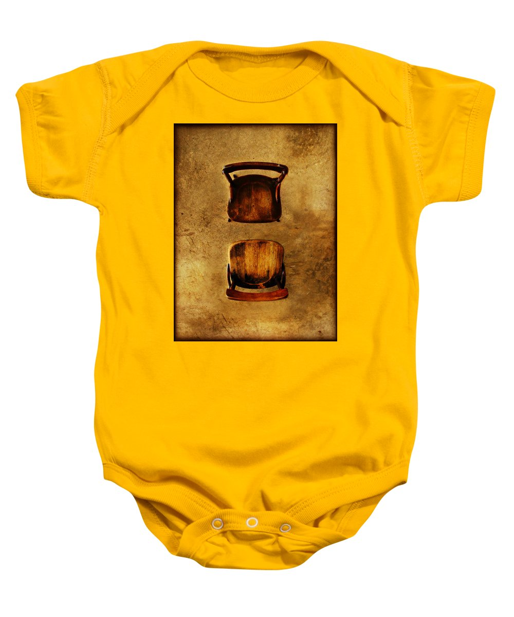 Dipasquale Baby Onesie featuring the photograph The Space Between You And Me by Dana DiPasquale